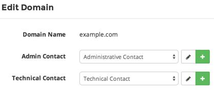 domain change registrant - add